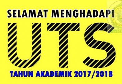INFO PELAKSANAAN UTS GENAP TA 2017/2018 FAI UNWAHA