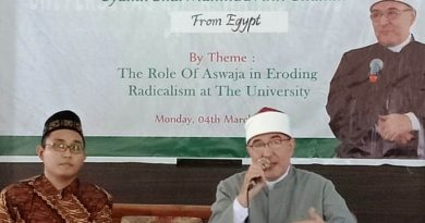 The Role of Aswaja in Eroding Radicalism at The University – International Conference