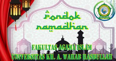 PONDOK RAMADHAN FAKULTAS AGAMA ISLAM