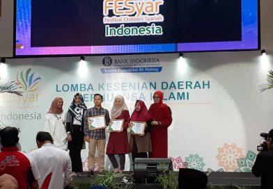 "Mahasiswa Ekonomi Syariah FAI-UNWAHA Mendapat JUARA 3 Dalam Lomba ""Entrepreneur Muda Inspiratif Berbasis Syariah"" Dalam Fesyar BI"
